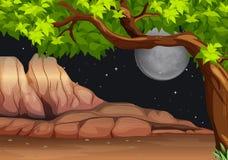 A night scenery Stock Image