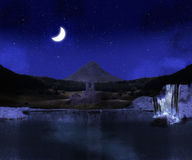 Night scenery Stock Images