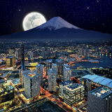 Night scenes Royalty Free Stock Images