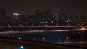 night scenes of Taipei City Royalty Free Stock Photo