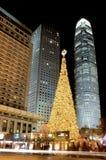 Night Scenes. Christmas Royalty Free Stock Photos