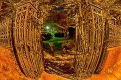 Night scenes around olde york white rose city south carolina Royalty Free Stock Images