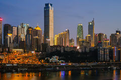 Night scenes of Chongqing Royalty Free Stock Photo