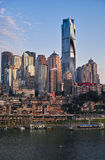 Buildings of Chongqing Stock Photos