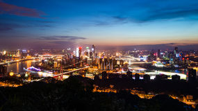 The night scenes of Chongqing Royalty Free Stock Image