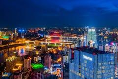The night scenes of Chongqing Stock Image