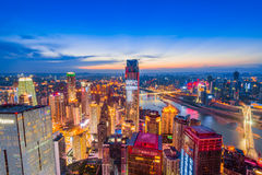 The night scenes of Chongqing Stock Photography
