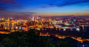 The night scenes of Chongqing Stock Photo