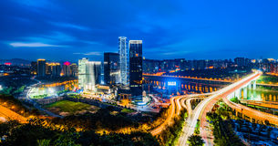 The night scenes of Chongqing Stock Photos
