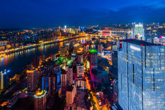 The night scenes of Chongqing Royalty Free Stock Images