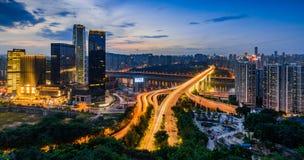 The night scenes of Chongqing Stock Photo