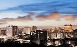 Night scenes of city Royalty Free Stock Image