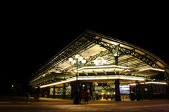 Night scenes of Disney Station Stock Image