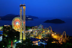 Night scenes of Ocean Park Royalty Free Stock Image