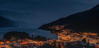 Free Night Scenes Of Queentown Stock Image - 161529401