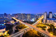 Night Scenes in Qingdao Royalty Free Stock Photography