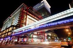 Night scenes of the Taipei city, Taiwan Royalty Free Stock Photography