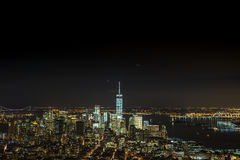 Night scenes of World Trade Center Royalty Free Stock Image