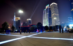 The night scenic of Guangzhou Royalty Free Stock Image