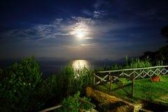 Night at Sea Stock Photography