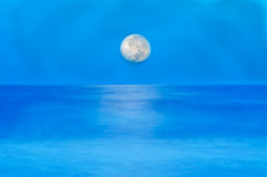 Night sea Royalty Free Stock Photo