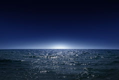 Night sea 1 Royalty Free Stock Images