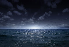 Night sea 1 Royalty Free Stock Photography