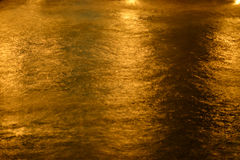 Night sea water close up Stock Images