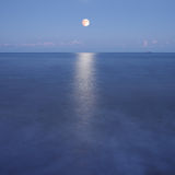 Night seascape Stock Photography