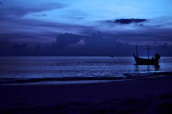 Night seascape. Stock Photography