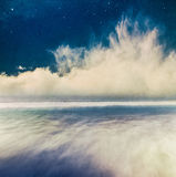 Night Seascape Fantasy Royalty Free Stock Photo