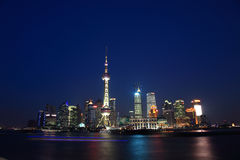 Night Shanghai Stock Images