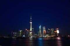 Night Shanghai Stock Photo