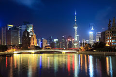 Night shanghai Stock Photography