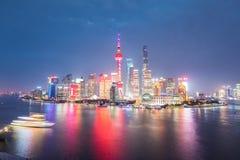 Night shanghai Stock Images