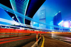 The night of shanghai Stock Photo