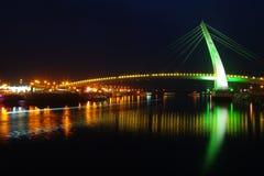 Night shoot of bridge Stock Photos