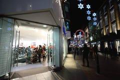 Night shopping Stock Photo