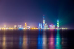 Night shot of Batumi, Georgia Stock Photos