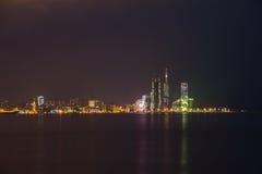 Night shot of Batumi, Georgia Stock Photo