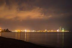 Night shot of Batumi, Georgia Royalty Free Stock Photo