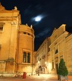 Night Shot in the center of Parma, Italy Royalty Free Stock Photography