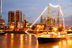 Puerto Madero in Buenos Aires Royalty Free Stock Photos