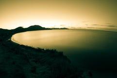 Night shot of sea. Crimea. Royalty Free Stock Photos
