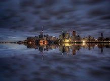 Night Shot Toronto City Stock Images