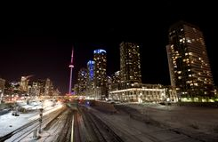 Night Shot Toronto Stock Photography