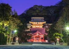 Night at the Shrine Royalty Free Stock Photos