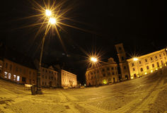 Night in Sibiu Stock Photo