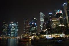 night singapore Στοκ Εικόνα