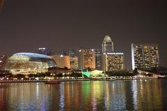 night singapore Στοκ φωτογραφία με δικαίωμα ελεύθερης χρήσης